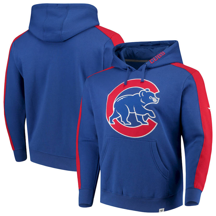 Chicago Cubs Fanatics Branded Iconic Fleece Pullover Hoodie Royal