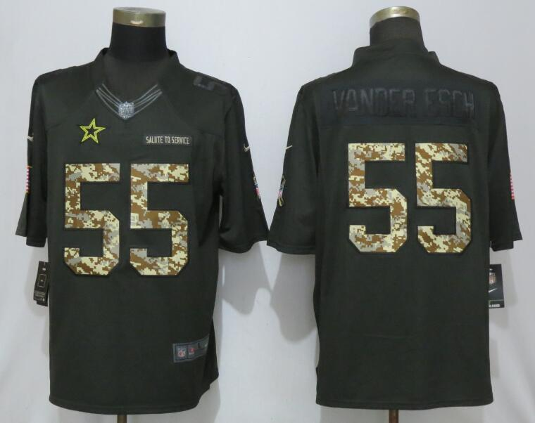 Nike Steelers 55 Devin Bush Black Camo Salute to Service Limited Jersey