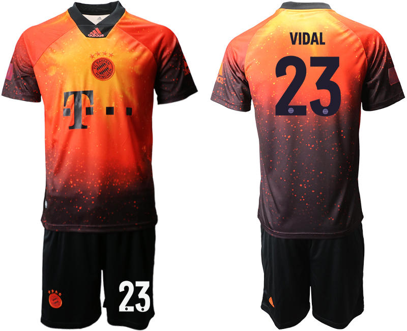 2018-19 Bayern Munich 23 VIDAL FIFA Digital Kit Soccer Jersey