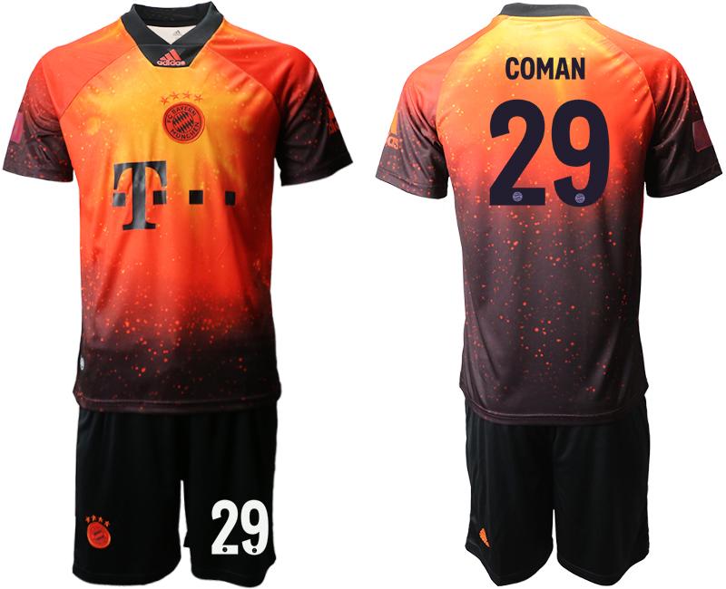 2018-19 Bayern Munich 29 COMAN FIFA Digital Kit Soccer Jersey