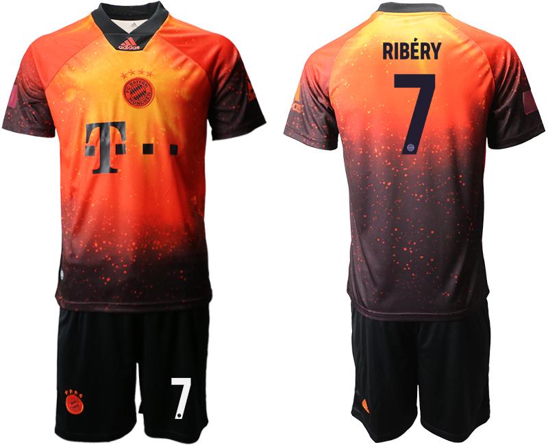 2018-19 Bayern Munich 7 RIBERY FIFA Digital Kit Soccer Jersey