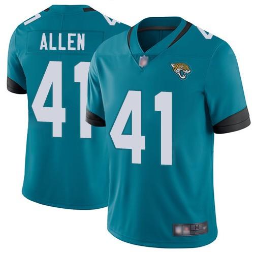 Nike Jaguars 41 Josh Allen Teal 2019 NFL Draft First Round Pick Vapor Untouchable Limited Jersey