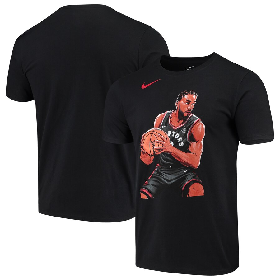 Kawhi Leonard Toronto Raptors Nike 2019 NBA Playoffs Bound Hero T-Shirt Black
