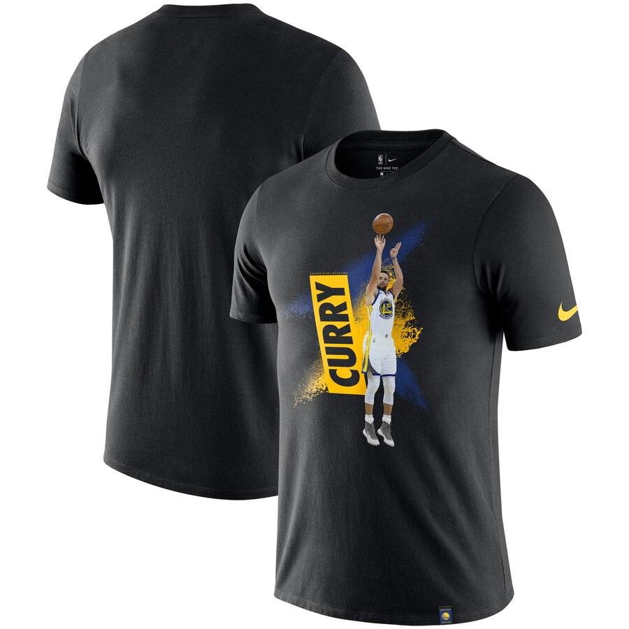 Stephen Curry Golden State Warriors Nike Mezzo Player Performance T-Shirt Black