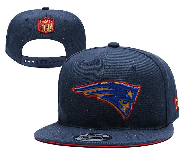 Patriots Team Logo Navy Adjustable Hat TX