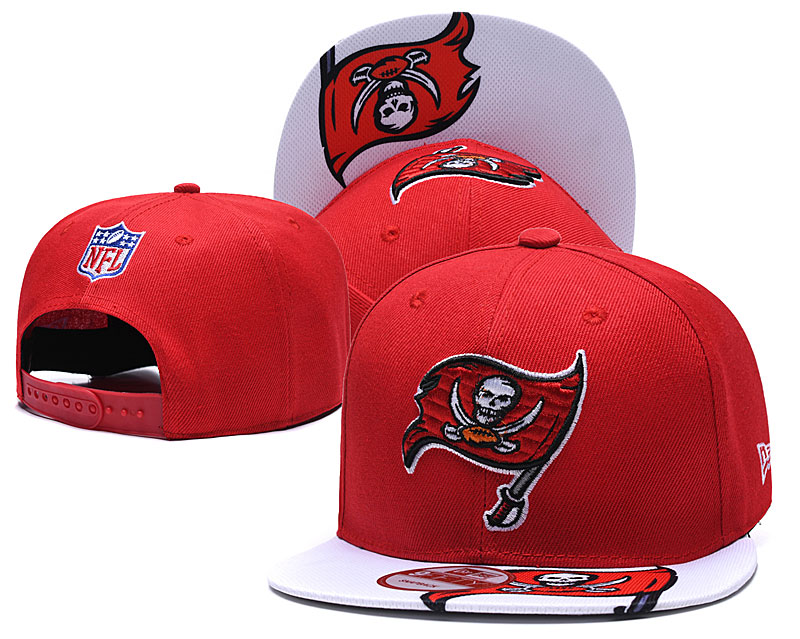 Buccaneers Team Logo Red Adjustable Hat TX