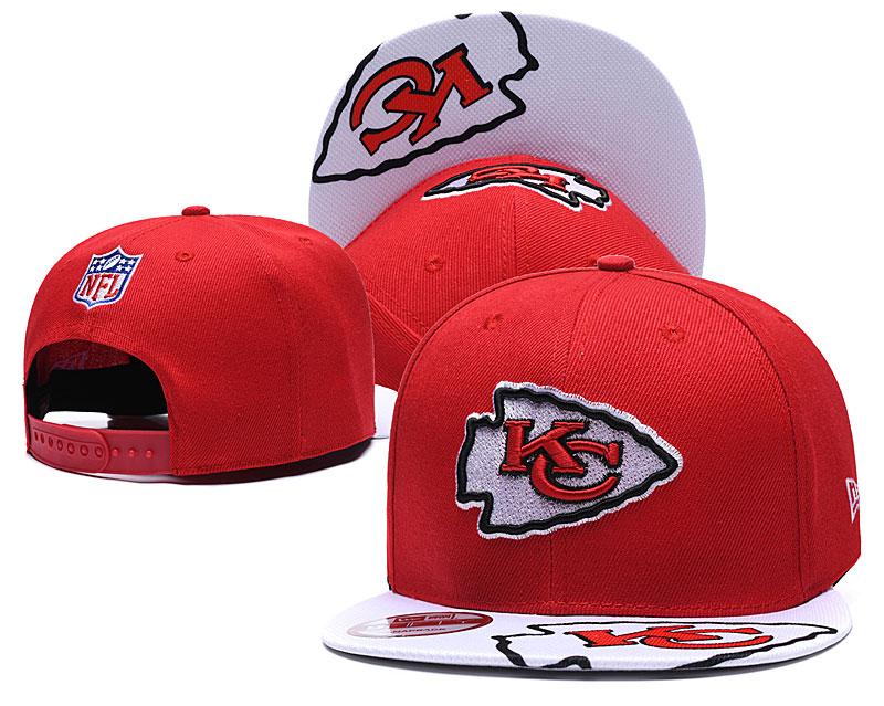 Chiefs Team Logo Red Adjustable Hat TX