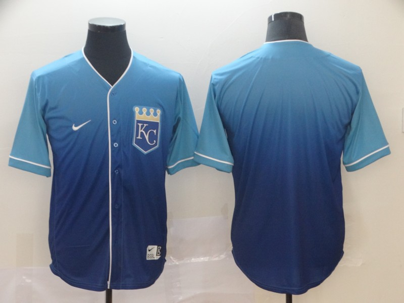 Royals Blank Blue Drift Fashion Jersey