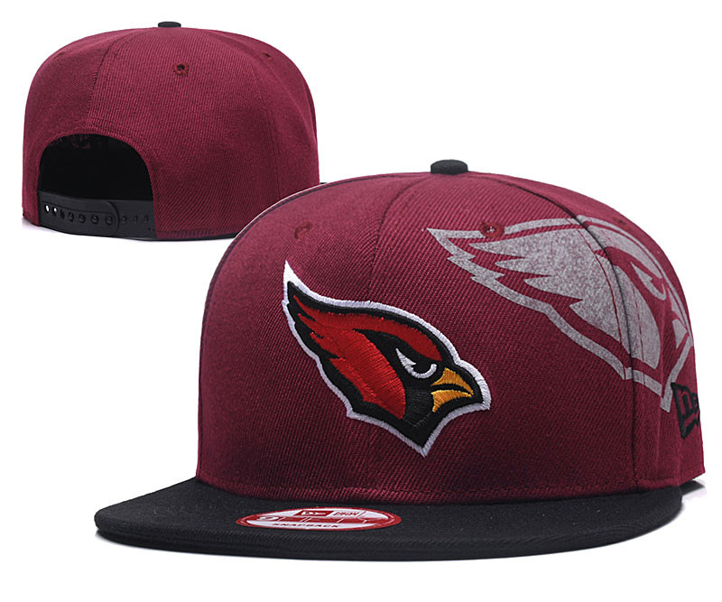 Arizona Cardinals Fresh Logo Red Adjustable Hat GS