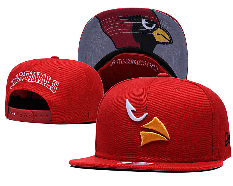 Arizona Cardinals Team Logo Red Adjustable Hat GS