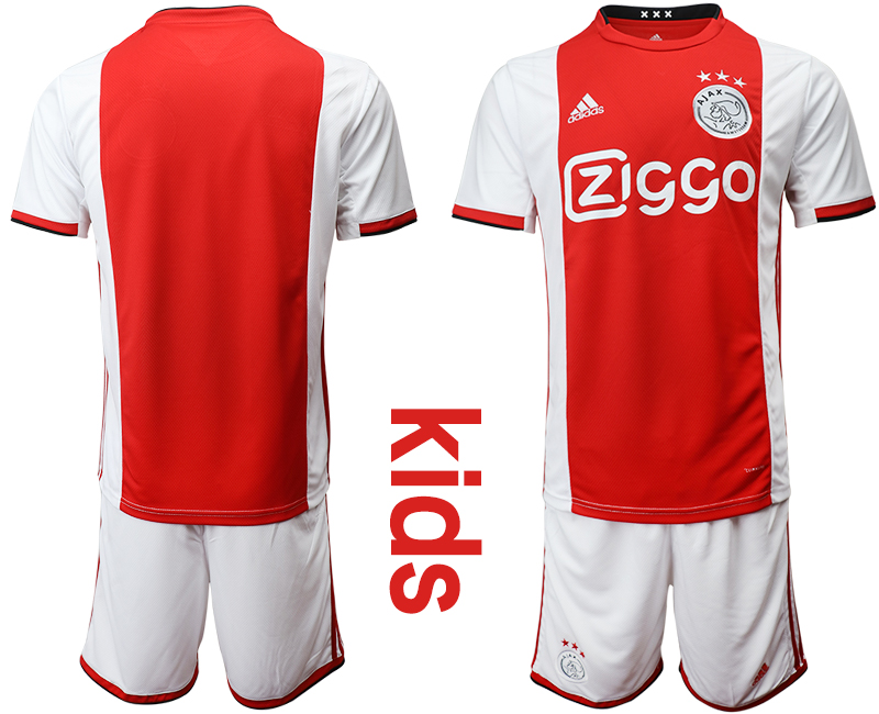 2019-20 AFC Ajax Youth Home Soccer Jersey