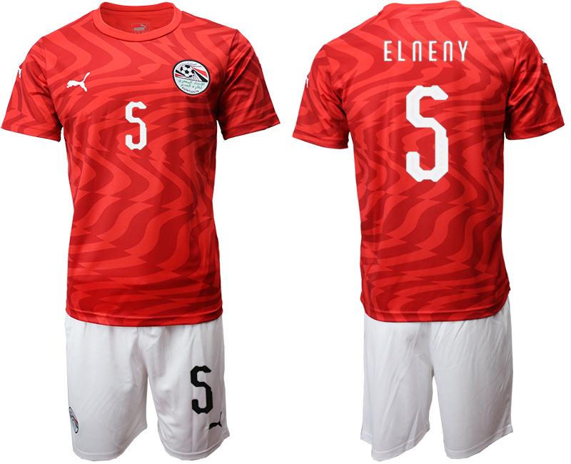 2019-20 Egypt 5 ELNENY Home Soccer Jersey