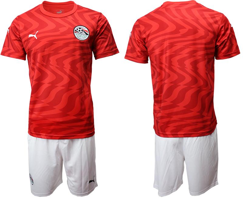 2019-20 Egypt Home Soccer Jersey