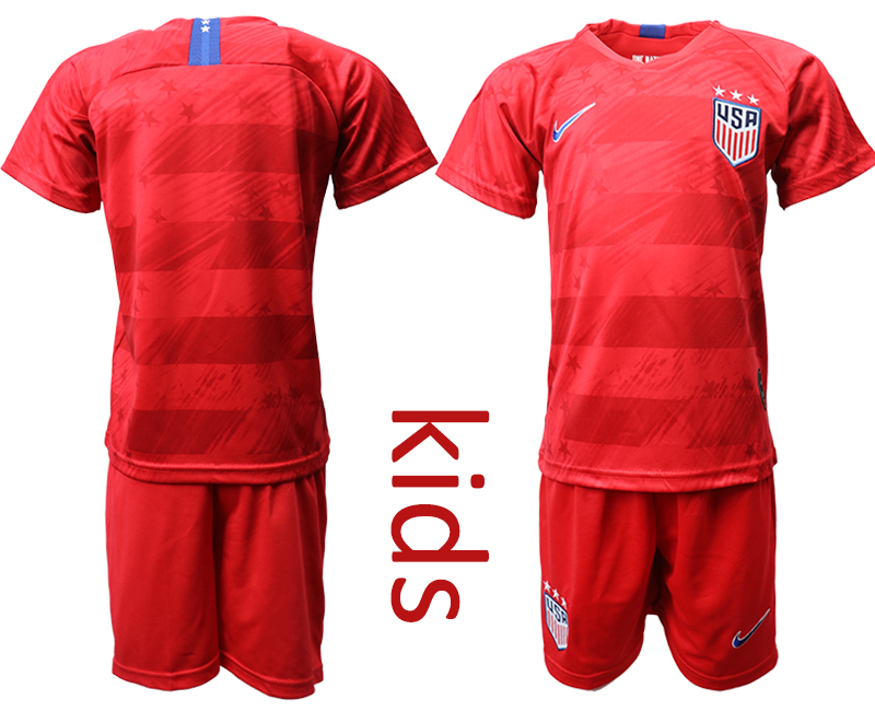 2019-20 USA Youth Away Soccer Jersey
