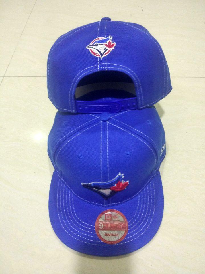 Blue Jays Team Logo Blue Adjustable Hat LT