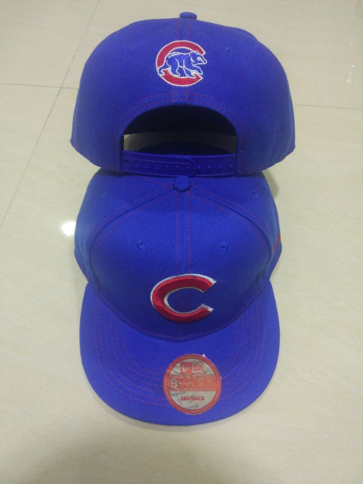 Cubs Team Logo Blue Adjustable Hat LT