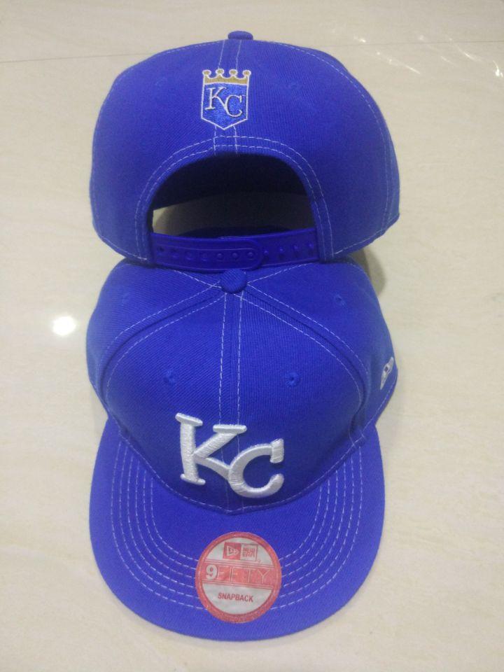 Royals Logo Navy Adjustable Hat LT