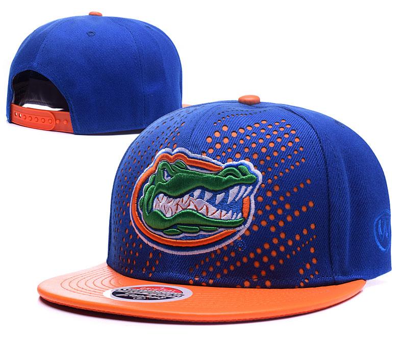 Florida Gators Team Logo Blue Orange Adjustable Hat GS
