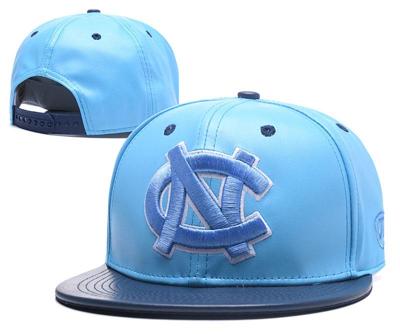 North Carolina Tar Heels Team Logo Light Blue Adjustable Hat GS