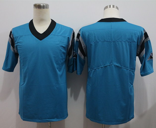 Nike Panthers Blank Blue Vapor Untouchable Limited Jersey