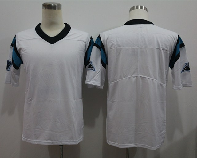 Nike Panthers Blank White Vapor Untouchable Limited Jersey
