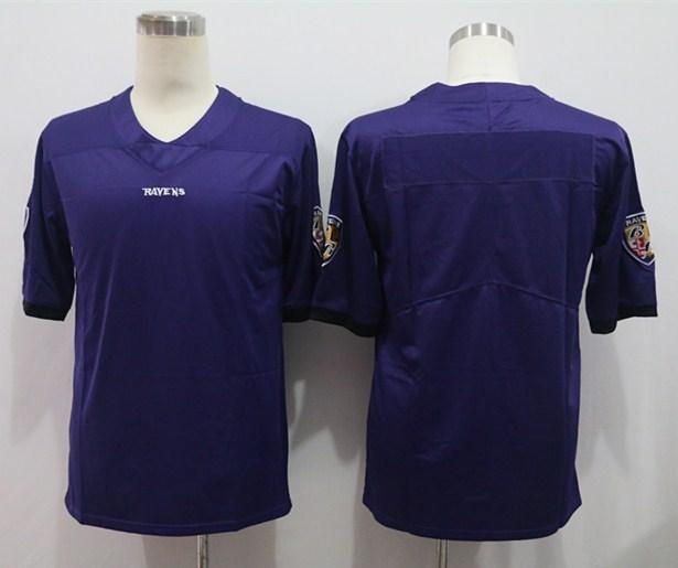 Nike Ravens Blank Purple Vapor Untouchable Limited Jersey