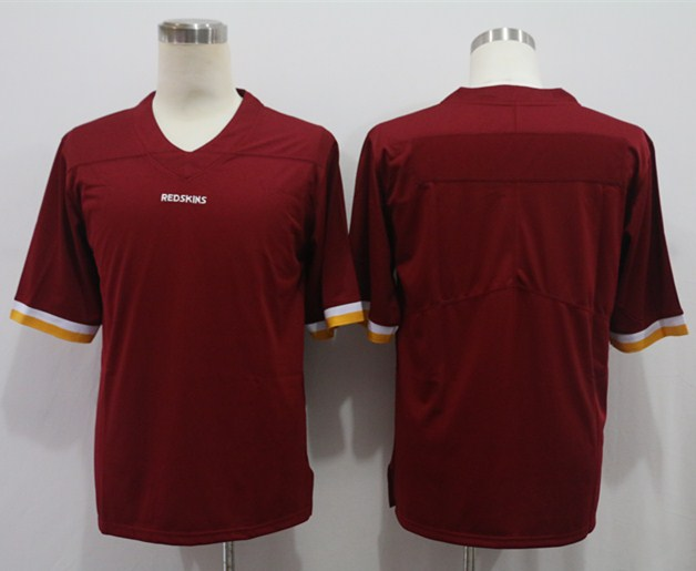 Nike Redskins Blank Red Vapor Untouchable Limited Jersey