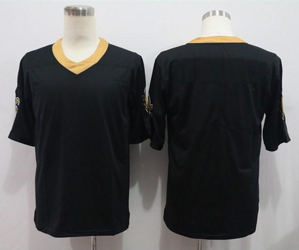 Nike Saints Blank Black Vapor Untouchable Limited Jersey