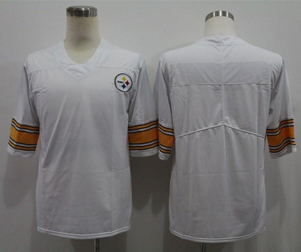 Nike Steelers Blank White Vapor Untouchable Limited Jersey