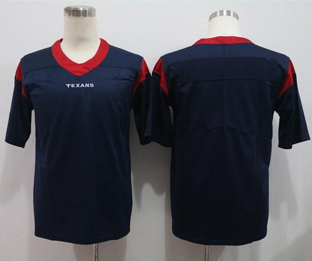 Nike Texans Blank Navy Vapor Untouchable Limited Jersey
