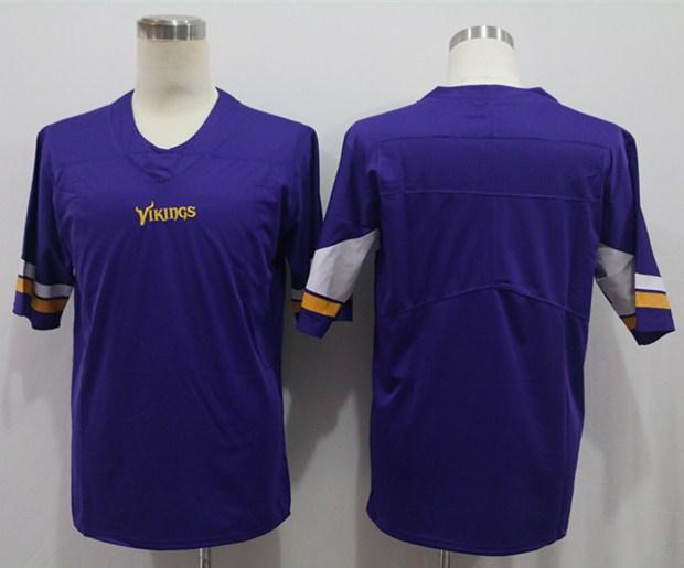 Nike Vikings Blank Purple Vapor Untouchable Limited Jersey
