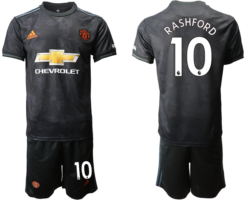 2019-20 Manchester United 10 RASHFORD Third Away Soccer Jersey