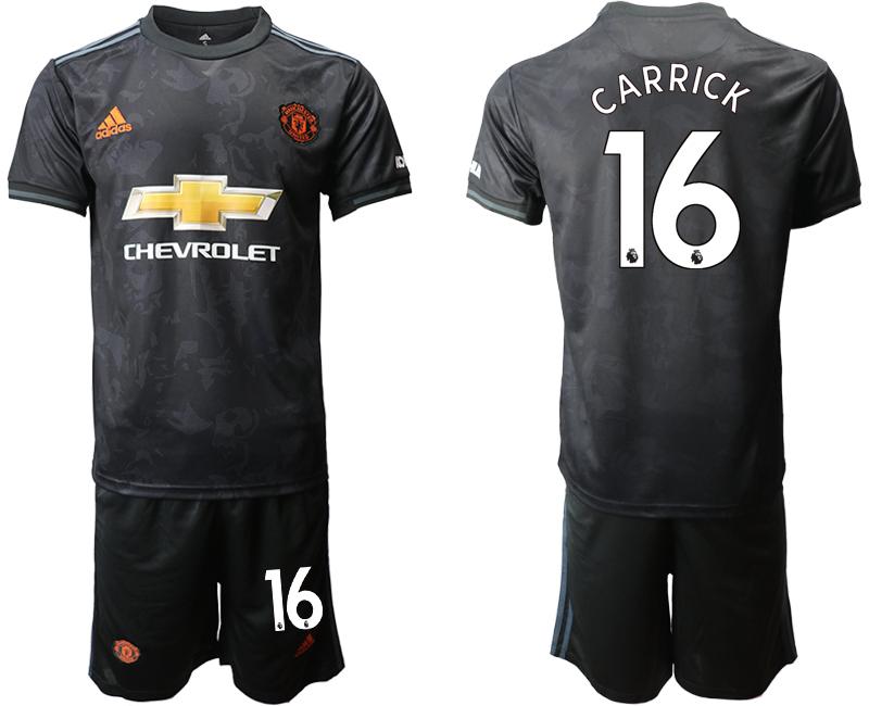2019-20 Manchester United 16 CARRICK Third Away Soccer Jersey
