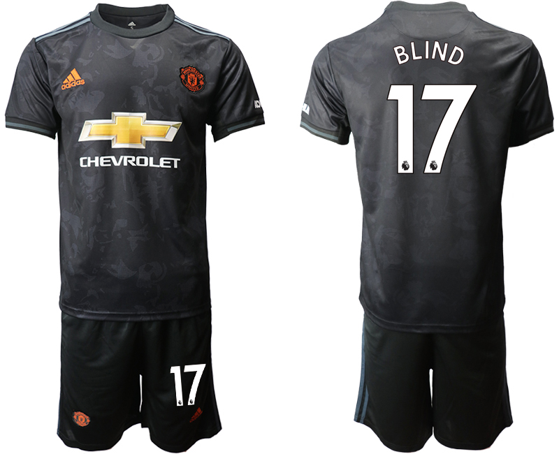 2019-20 Manchester United 17 BLIND Third Away Soccer Jersey