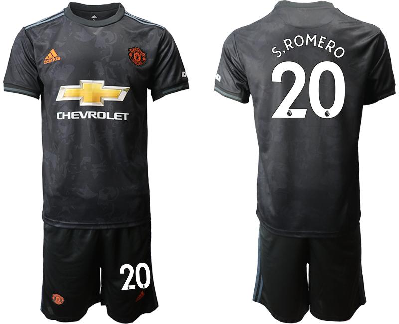 2019-20 Manchester United 20 S.ROMERO Third Away Soccer Jersey