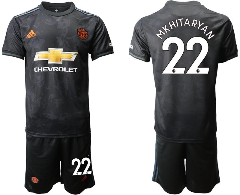 2019-20 Manchester United 22 MKHITARYAN Third Away Soccer Jersey