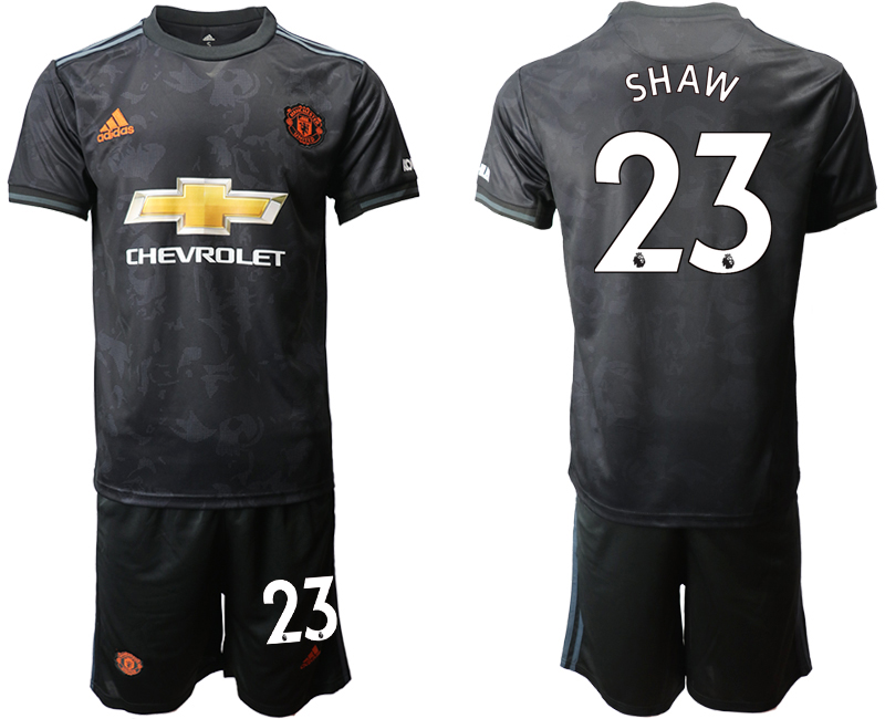 2019-20 Manchester United 23 SHAW Third Away Soccer Jersey