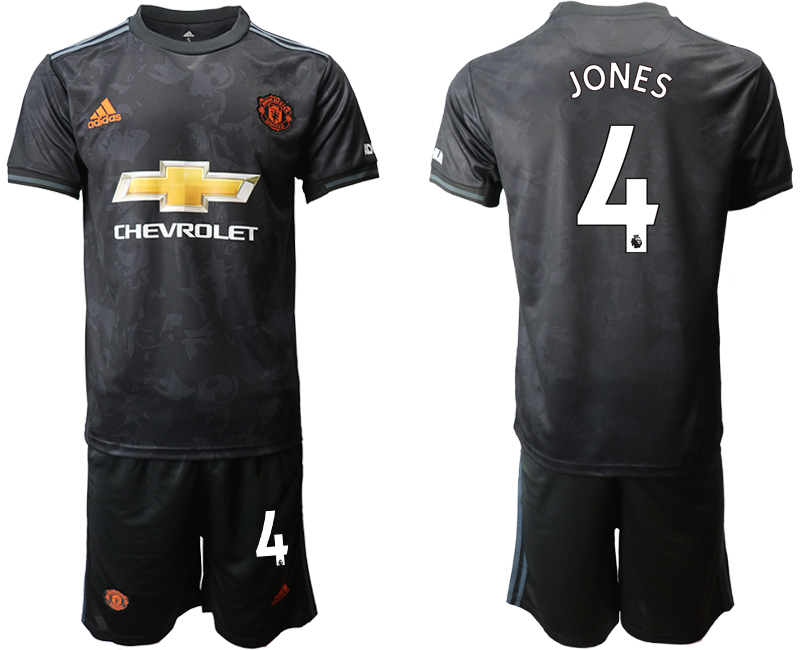 2019-20 Manchester United 4 JONES Third Away Soccer Jersey