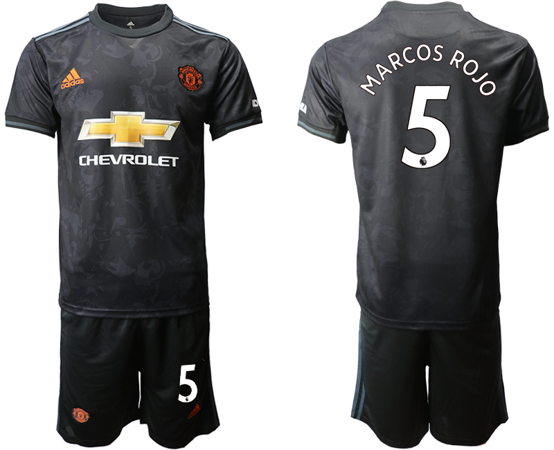 2019-20 Manchester United 5 MARCOS ROJO Third Away Soccer Jersey