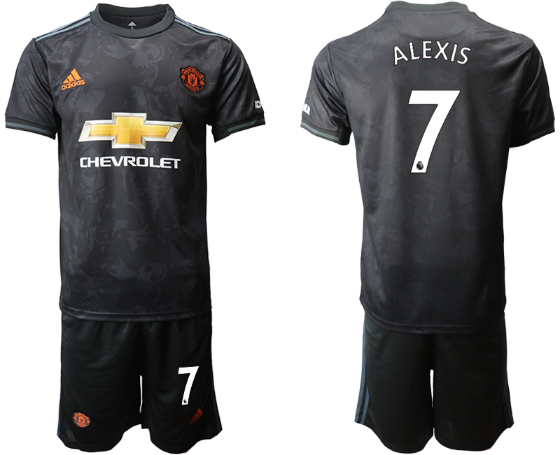 2019-20 Manchester United 7 ALEXIS Third Away Soccer Jersey