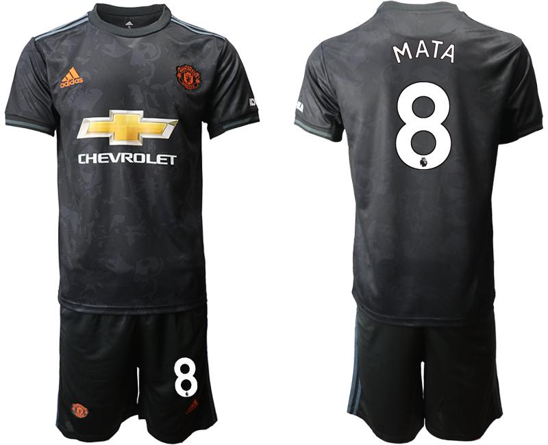 2019-20 Manchester United 8 MATA Third Away Soccer Jersey