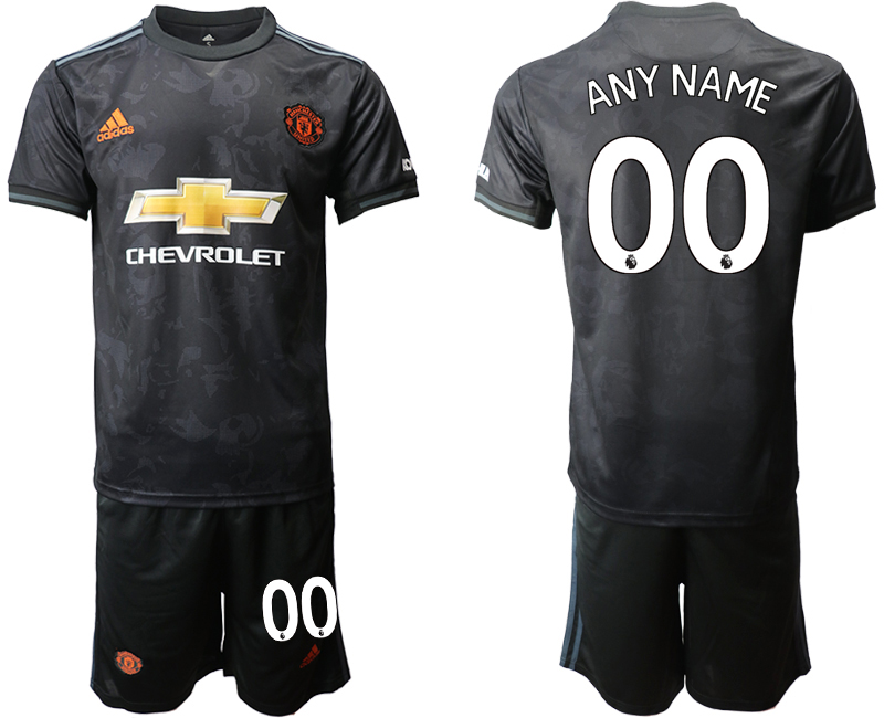 2019-20 Manchester United Customized Third Away Soccer Jersey