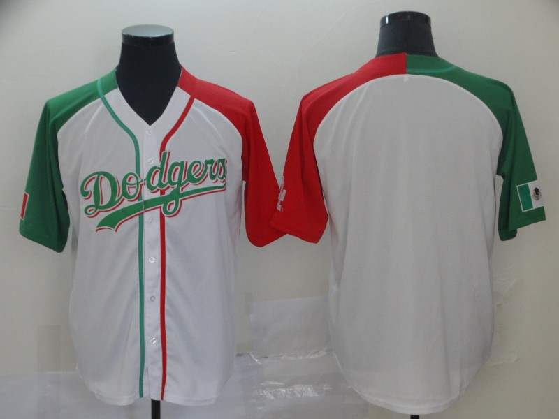 Dodgers Blank White Mexican Heritage Culture Night Jersey Mexico