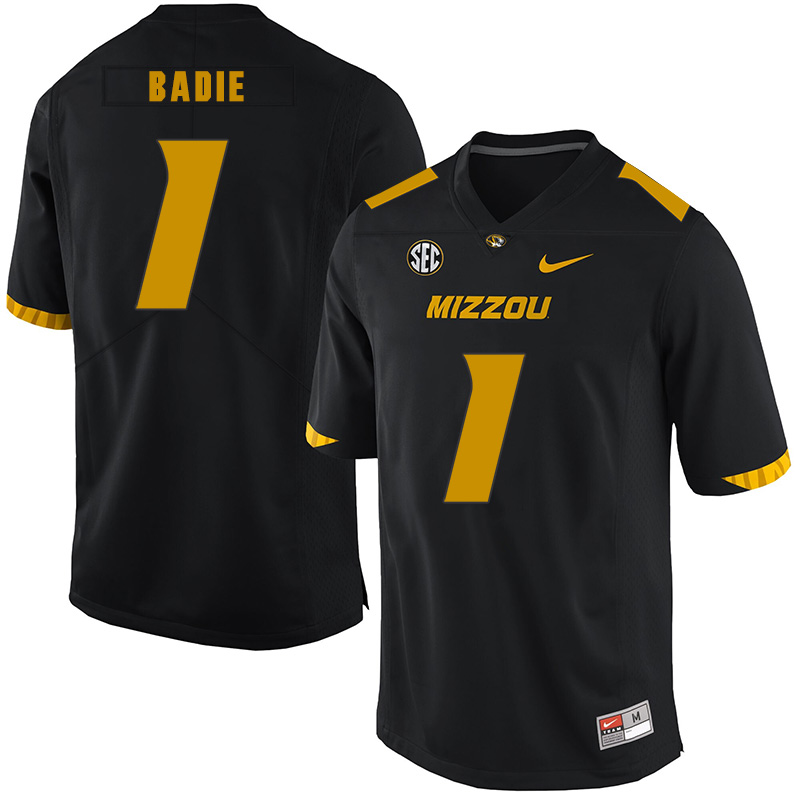 Missouri Tigers 1 Tyler Badie Black Nike College Football Jersey