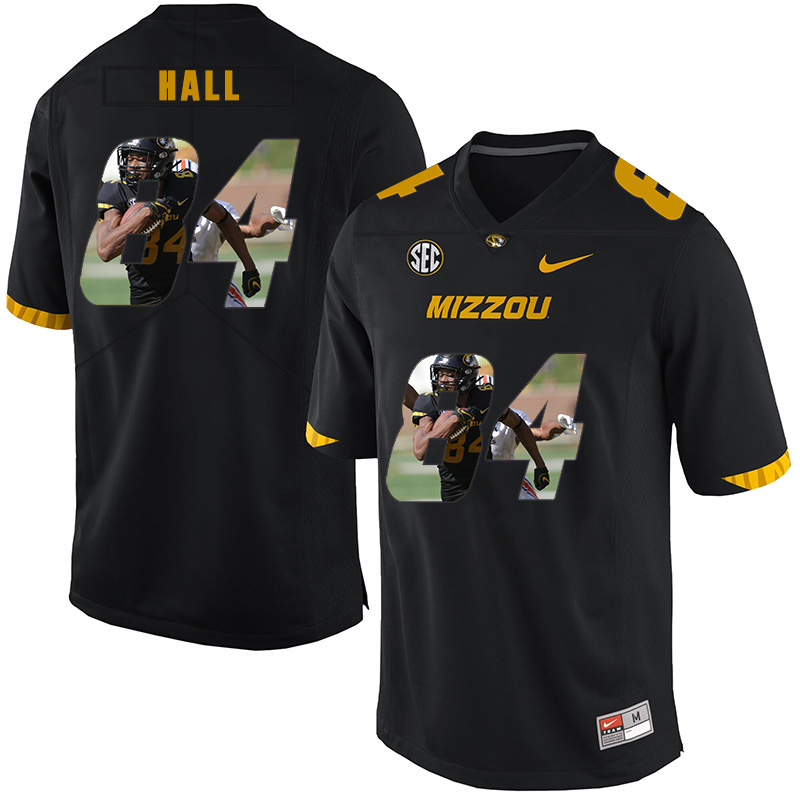 Missouri Tigers 84 Emanuel Hall Black Nike Fashion College Football Jersey