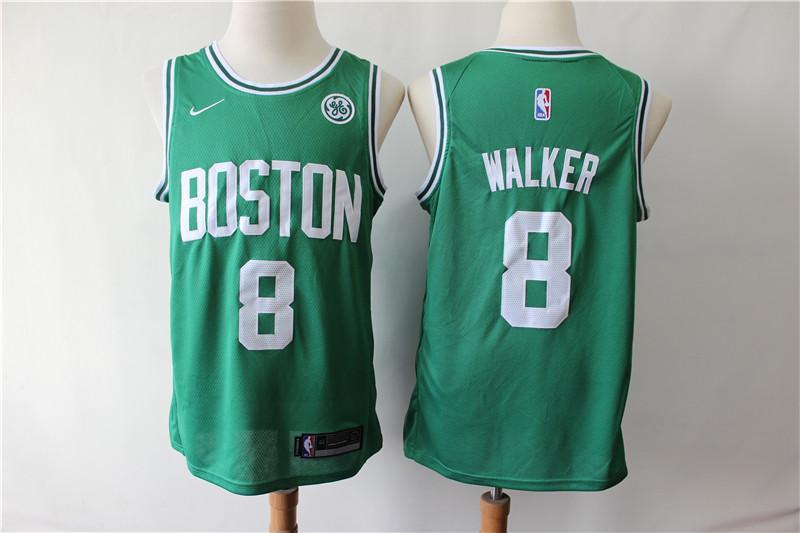 Celtics 8 Kemba Walker Green Nike Swingman Jersey
