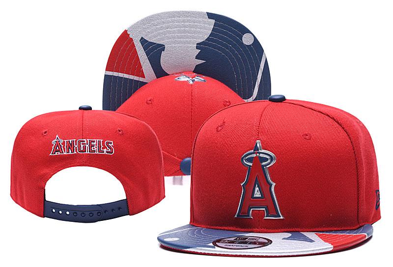 Angels Team Logo Red Adjustable Hat YD