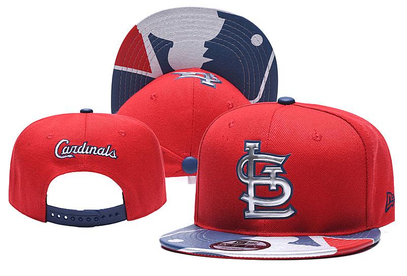 St. Louis Cardinals Team Logo Red Adjustable Hat YD