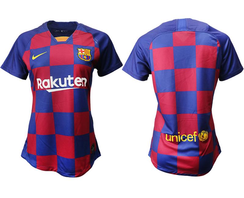 2019-20 Barcelona Home Women Soccer Jersey