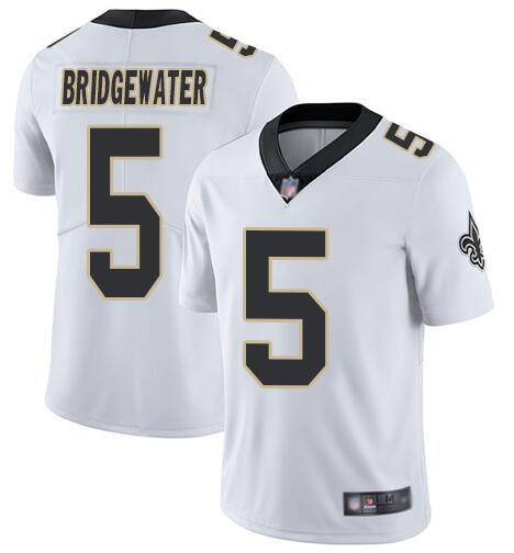 Nike Saints 5 Teddy Bridgewater White Vapor Untouchable Limited Jesey